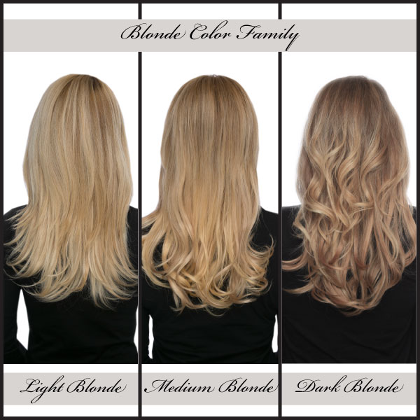 How To Choose Your Color Of Hair Extensions Lox Hair Extensions