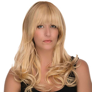 Rock this bangin' hairpiece when you want more personality and a more youthful look. These magical Clip-On Bangs give strength and shape to your style, while softening and flattering your features. Shop the trend today at www.loxextensions.com #loxextensions