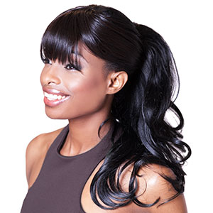 Playing dress up is fun and easy with our natural looking, versatile Clip-On Ponytail. The 3-in-1 feature allows you to wear a pony in two different styles and lengths, or as a fall hair extension. This hairpiece allows you to achieve more styles and is the perfect accessory to any outfit for every occasion. Shop now at www.loxhairextenionsions.com #loxextensions